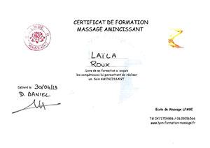 Laila Roux Massage Bien-Etre Amincissant Saint Priest Brignais